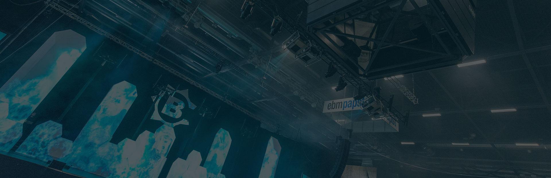 Helios Arena Events - Headerbereich